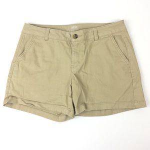 A.N.A Twill Tan Bermuda Shorts
